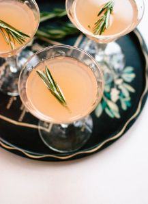 rosemary honey cocktail